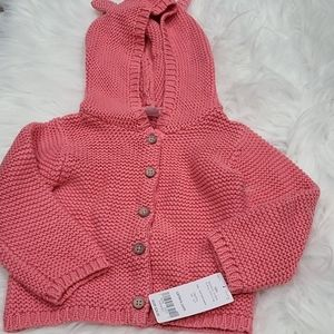 Carter's babygirl sweater- 12mths NWT